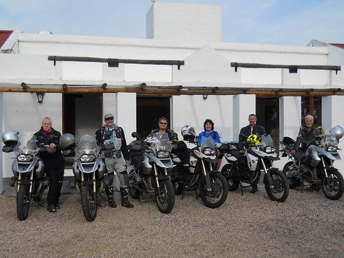 Jan 4, 2012.  Colin, Charlie, Michael, Gail, Wim and Jim ready to ride.