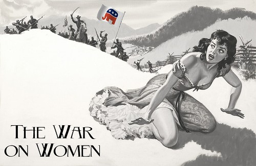 THE WAR ON WOMEN by Colonel Flick