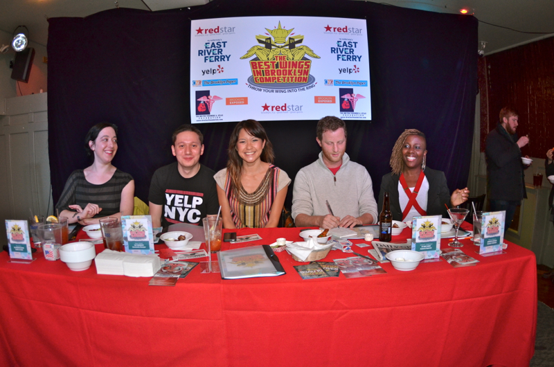 Best Wings in Brooklyn-2012 Judges