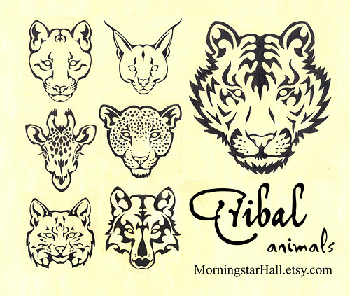 Tribal Animal Designs
