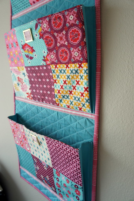 Wall hung organizer - New, WIP, Phew
