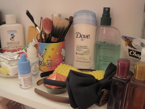 Day 24 - Inside your Bathroom Cabinet
