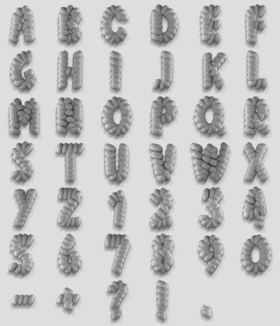 tipografias a mano