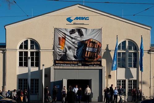 Gut besucht war das MVG-Museum am Samstag zur Braukunst-Messe
