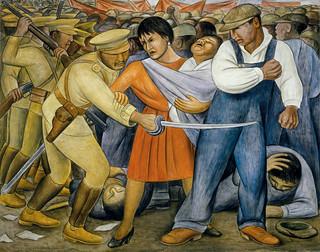 Diego Rivera, El Levantamiento, 1931.