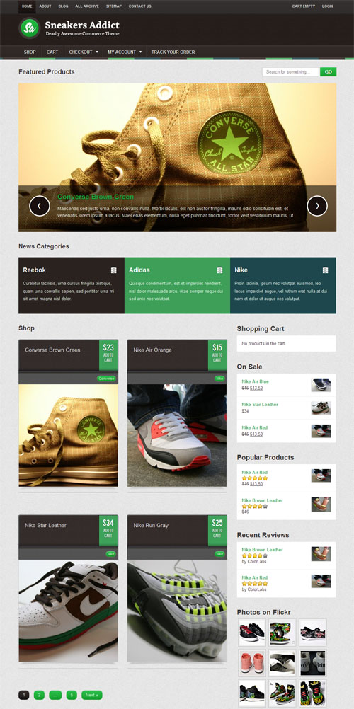 sneakers-addict-wordpress-theme