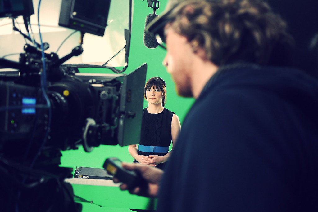 SyFy shoot for Lets Imagine Greater campaign