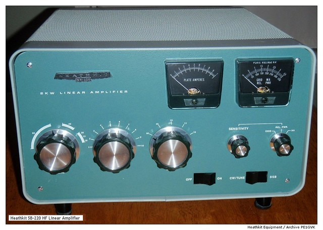 ... SSB-CW, HF-amplifier that was sold to the amateur radio community.