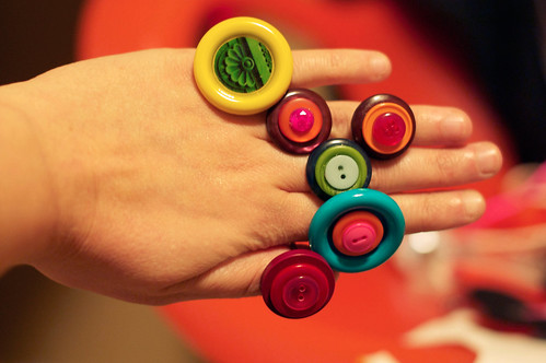 crafty-button-rings
