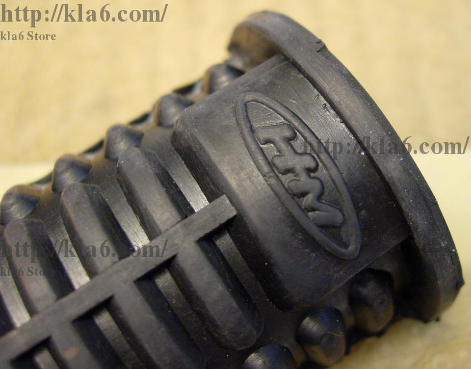 Honda S90 / C70 / C50 / ST70 Karet Foot Step / Foot Rest Bar Rubber Pad