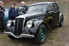 Brooklands New Year's Day Meet 2012 - 1938 Lancia (BPB 209)