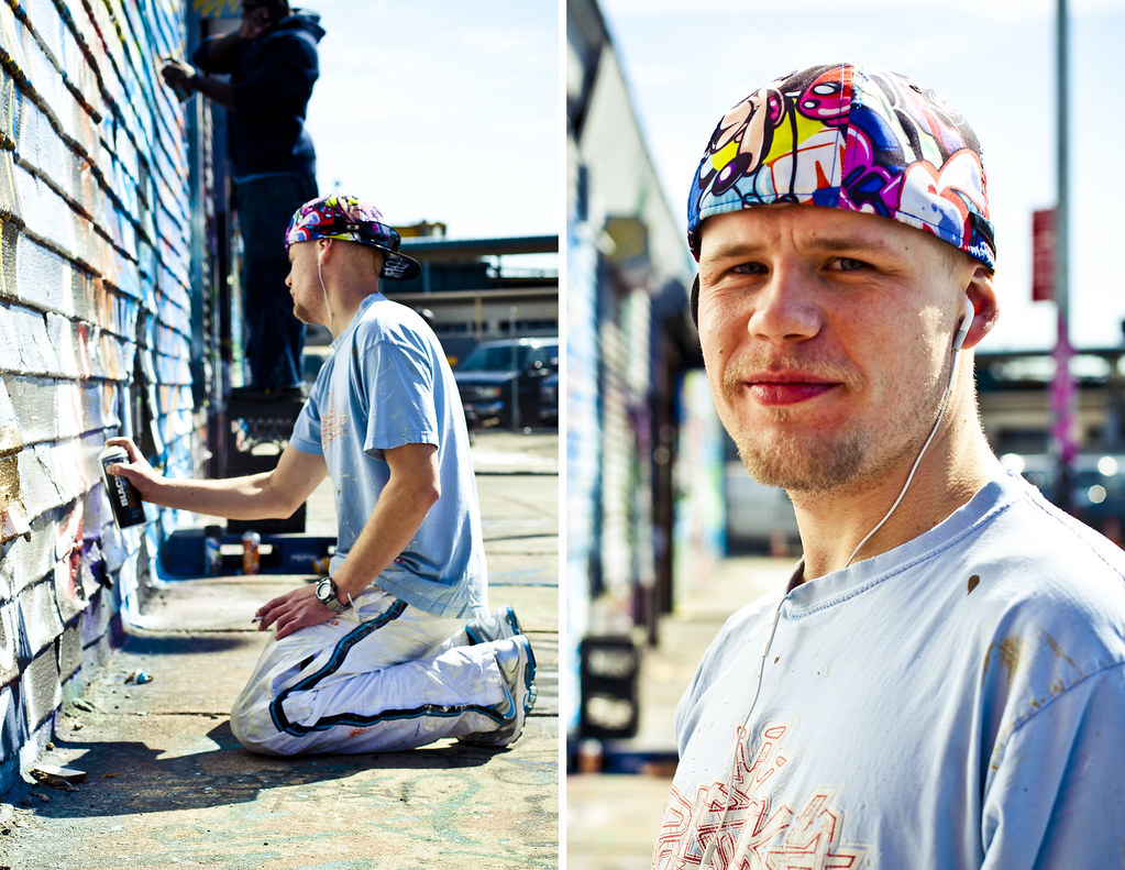 Street Artist from Poland