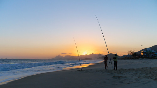 The Fishermen and The Sunset