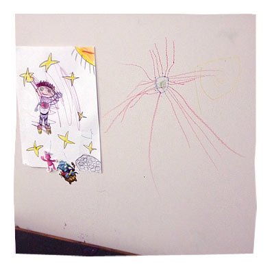 Liam's Drawing on the Walls (2.5 years)
