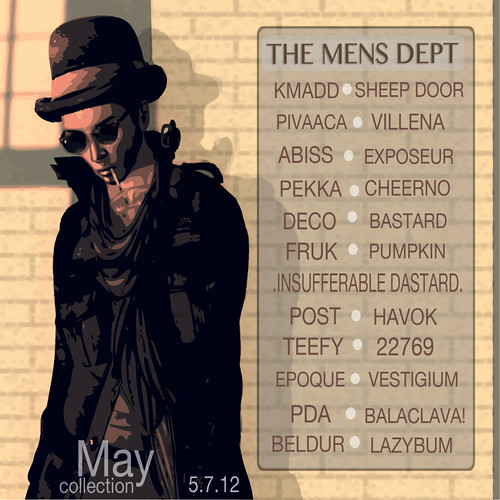 The Mens Dept - May 7th