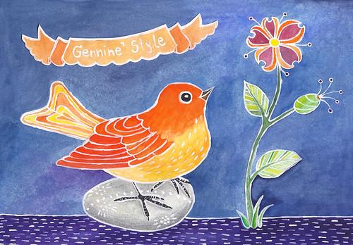 Gennine's Bird
