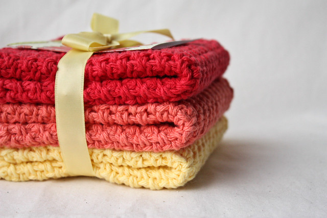 Warm Dishcloths - GIVEAWAY