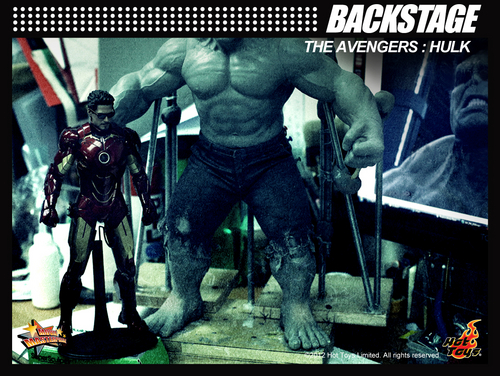 Hot Toys_avengers Hulk teaser pic_april 2012