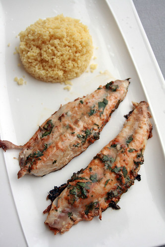 Filets de maquereau la chermoula chez becky et liz blog de cuisine anglaise - Cuisiner filet de maquereau ...
