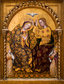 The Coronation of the Virgin, Gentile da Fabriano (abt 1370-1427)