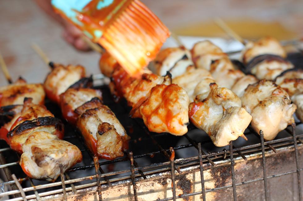 Korean barbecue chicken