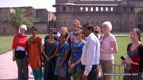 G Adventures group making more and more Indian friends wherever we go