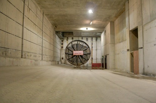The east facing tunnel