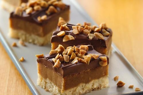 Peanut butter caramel cookies