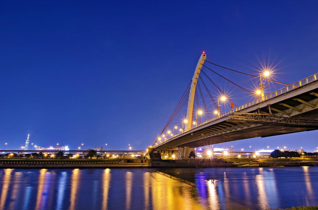 大直橋夜拍