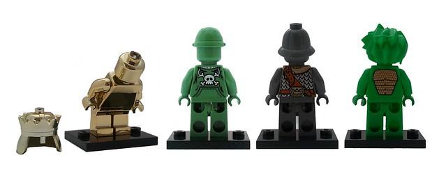NEW Lego Girl//Boy Minifig Plain DARK TAN TORSO Blank Body Upper w//Yellow Hands