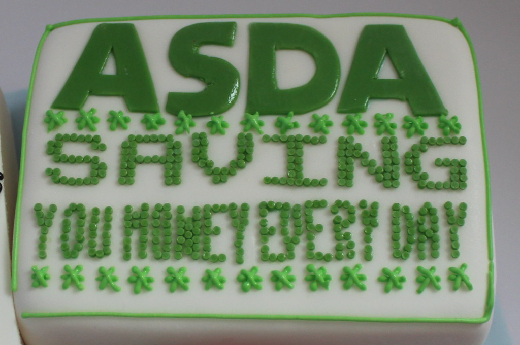Asda Bargains Birthday Cake A Photo On Flickriver