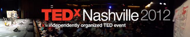 TEDxNashville 2012 banner