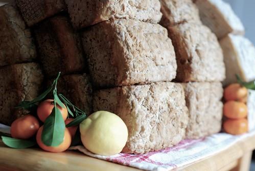 Vintage coconut gluten-free bread