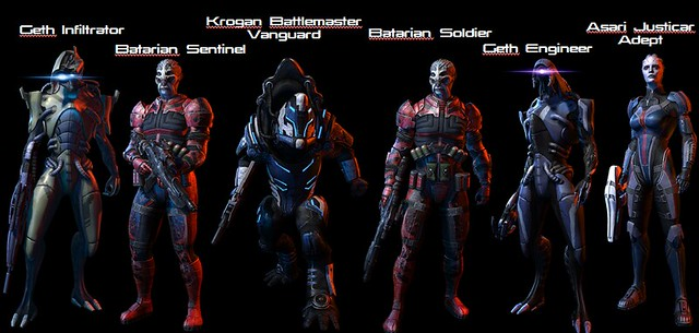 Mass Effect 3: Resurgence Pack - Characters