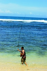 beach, fishing, sea, recreation, ocean, casting fishing, outdoor recreation, recreational fishing, surf fishing, coast,