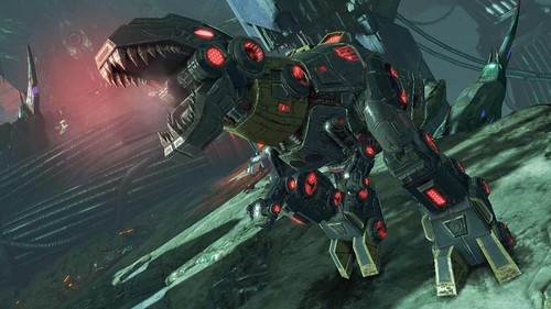 Here's Your First Look at Grimlock in Transformers: Fall of Cybertron