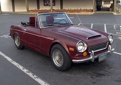 automobile, vehicle, datsun roadster, sunbeam tiger, antique car, classic car, datsun 1500, 1600, 2000 roadster, land vehicle, convertible, sports car,