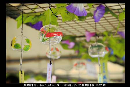 Photo:西新井大師 風鈴祭り/Nishiarai taishi Wind chimes Festival By Michiyo Photo