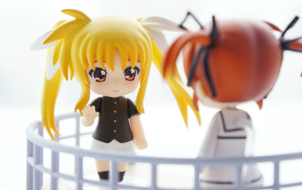 Nendoroid Petit Nanoha & Fate