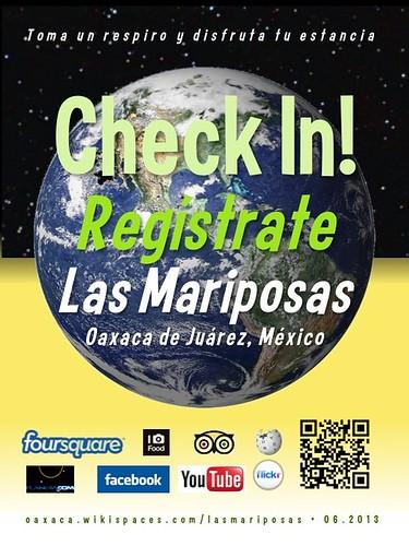 Las Mariposas Check In! Regístrate Oaxaca 06.2013