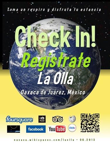 La Olla Check In! Regístrate Oaxaca 06.2013
