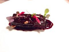 La morcilla casera - Restaurante Mina - Bilbao