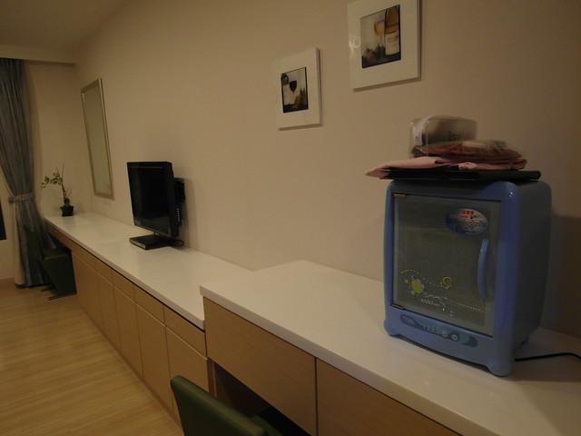 四季台安醫院月子中心,每間房間都有消毒鍋