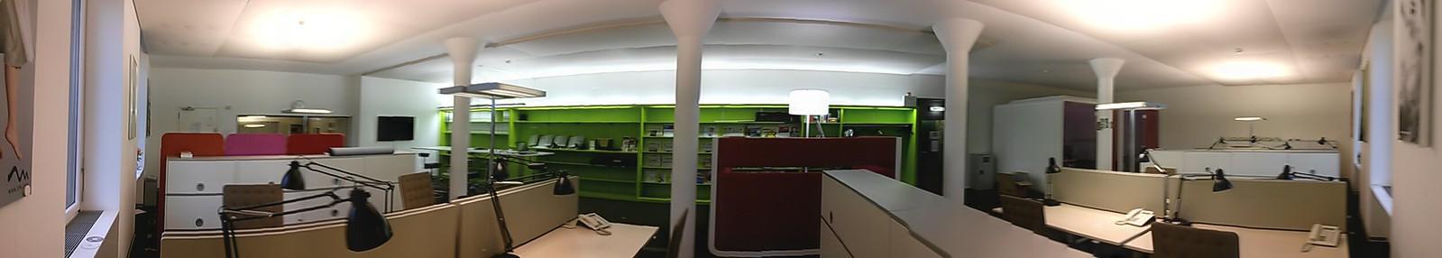 Grossraumbüro aktuelle Kultur Studio Basel