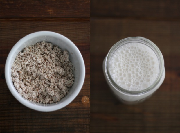 Almond Meal + Almond Milk