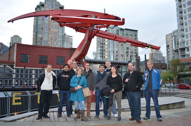 MDN documentation team in Vancouver, Canada