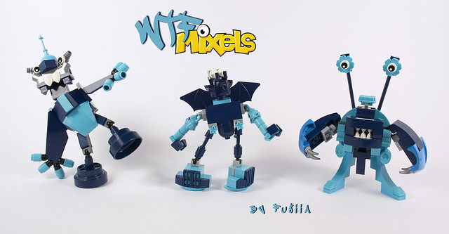 WTF Mixels - Scratty, Whistler and Stumpy   Flickr - Photo Sharing!
