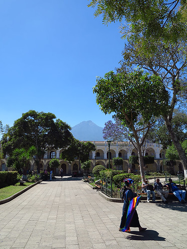 Streets of Antigua Quatemala