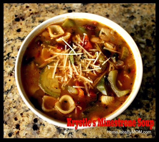 krystle's minestrone soup