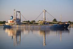 Ship in Tulcea, Romania